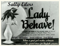 Lady Behave (1937)