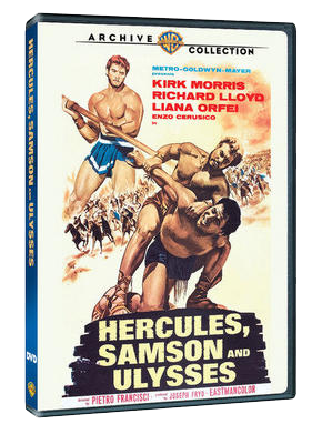 DVD: Hercules, Samson and Ulysses